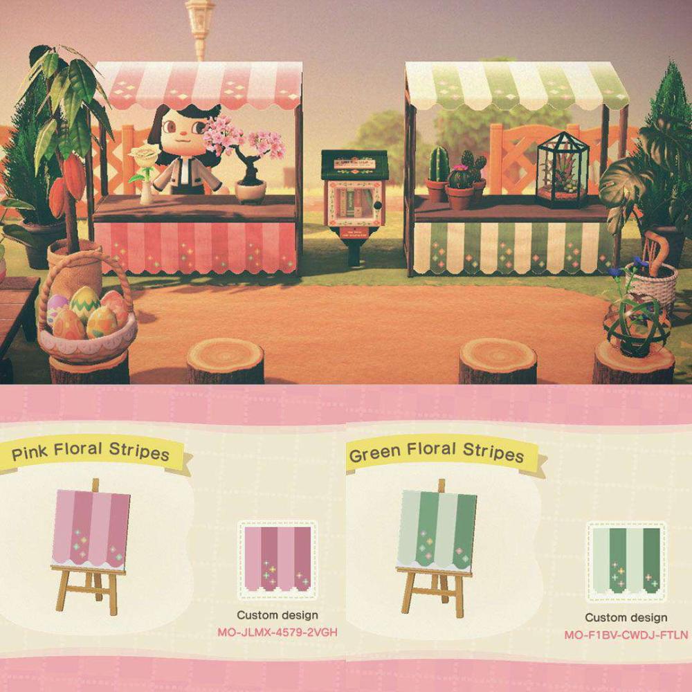 Animal Crossing New Horizons New Qr Codes Custom Designs April 2020 Dresses Stalls Streets Paths Animal Crossing 3ds Animal Crossing Animal Crossing Game