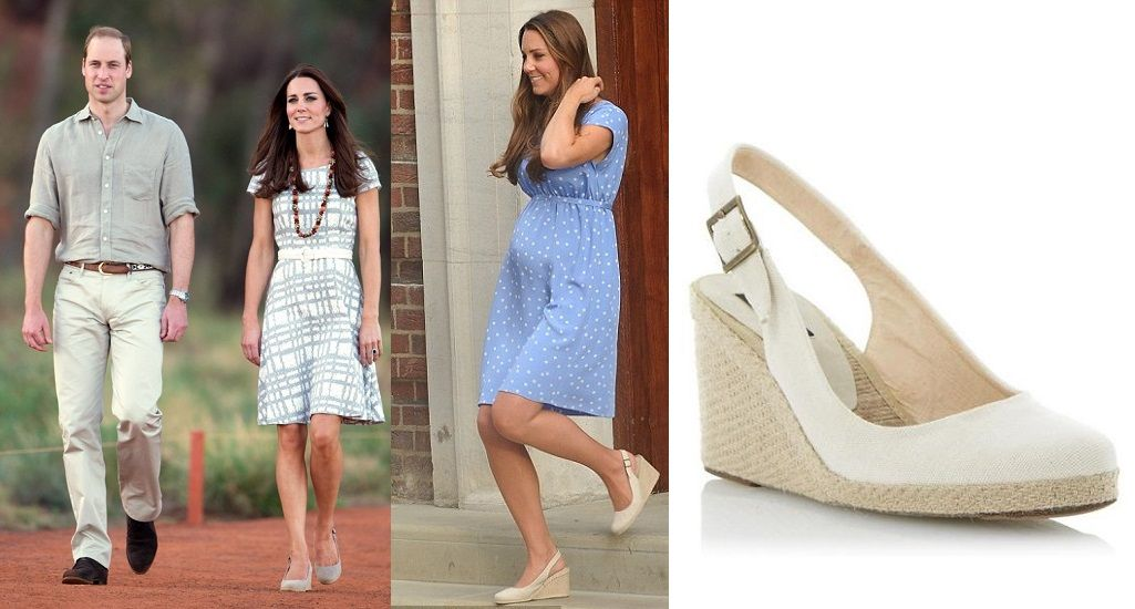c40343a7662b Kate Middleton Style · Espadrilles · Royalty · Wedge Shoes
