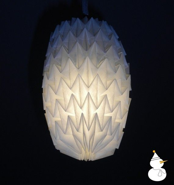 Parchment paper origami lampshade size s origami paper origami parchment paper origami lampshade size s aloadofball Image collections