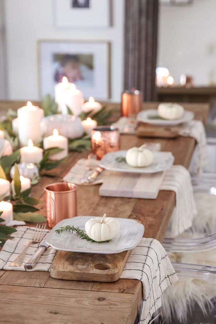 Photo of Modern Farmhouse Fall Dining Room Decor – Fall Home Tour
