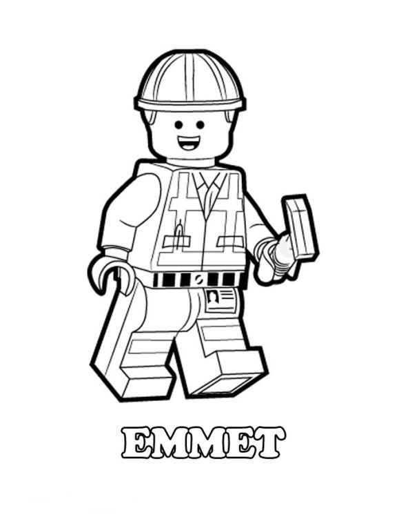 coloring page Lego Movie Lego