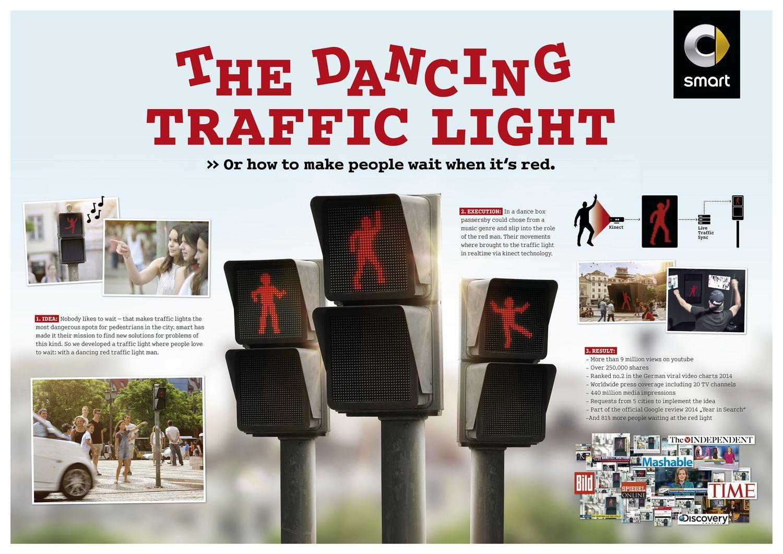 Αποτέλεσμα εικόνας για The Dancing Traffic Light Manikin by smart