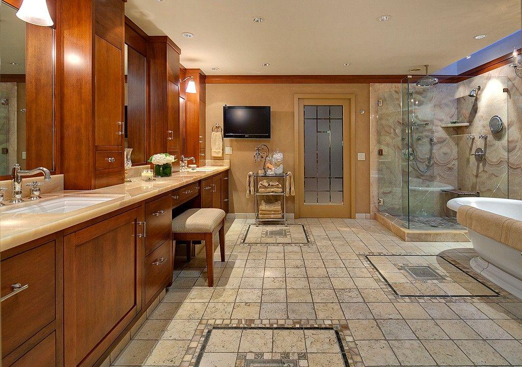 Wow- what a spacious bathroom! Medina, WA Coldwell Banker ...