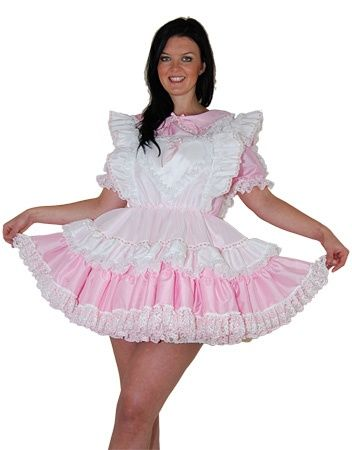 When Girly Means Girly And Then Some Maid Outfit Maid Dress Sissy Boy