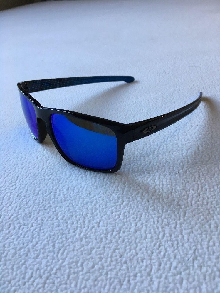 69591580b2 Oakley Sliver Sunglasses 009262- Black Sapphire Iridium Polarized Authentic   Oakley