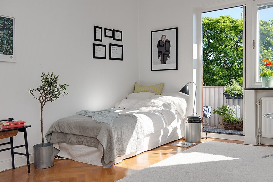 Small Apartment 13 Charming 26 Sqm In Sweden Offering The Best Of Two Eras