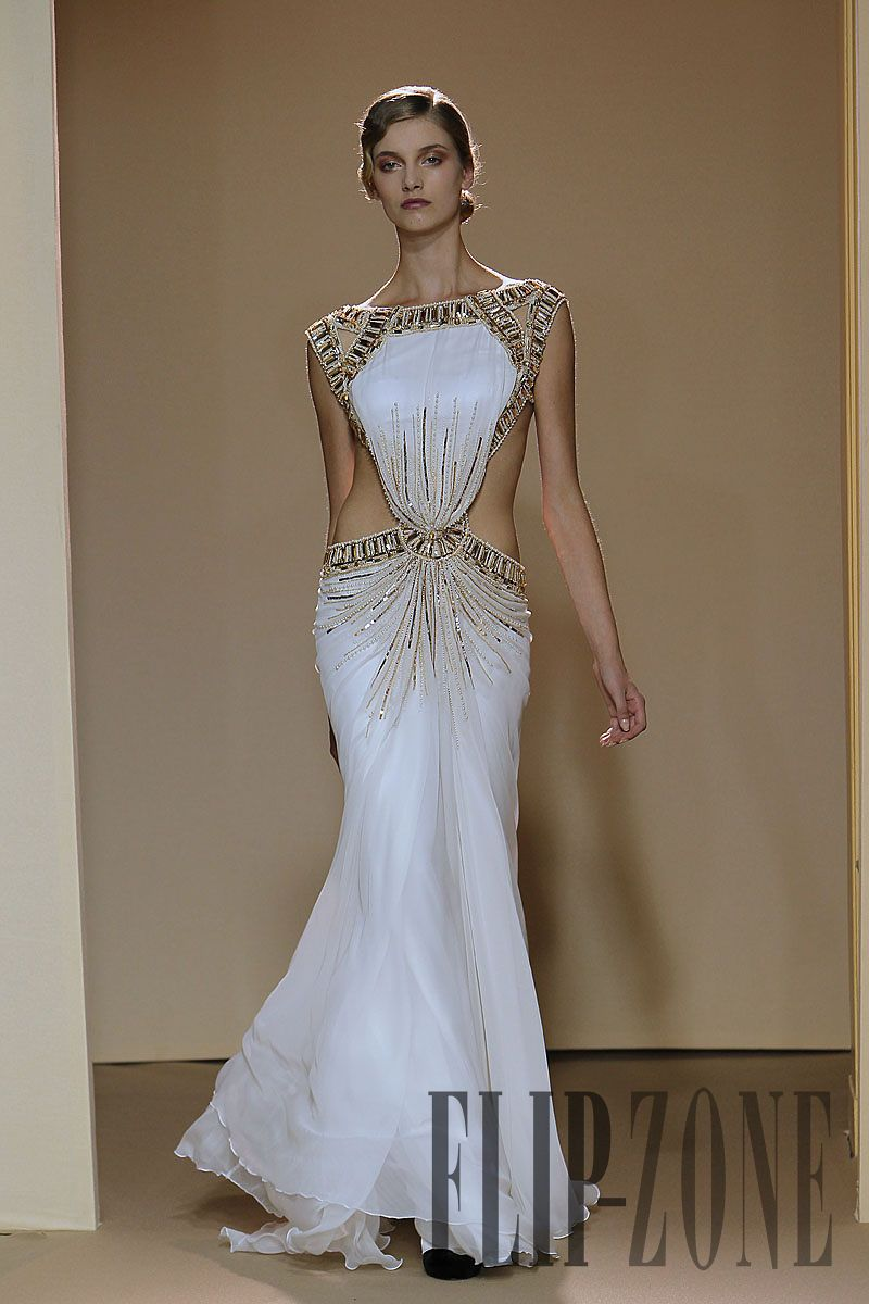 Dany atrache ucgolden ageud fw couture dresses