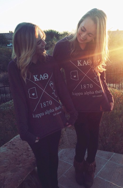 Kappa Alpha Theta at Arizona State University #KappaAlphaTheta #Theta