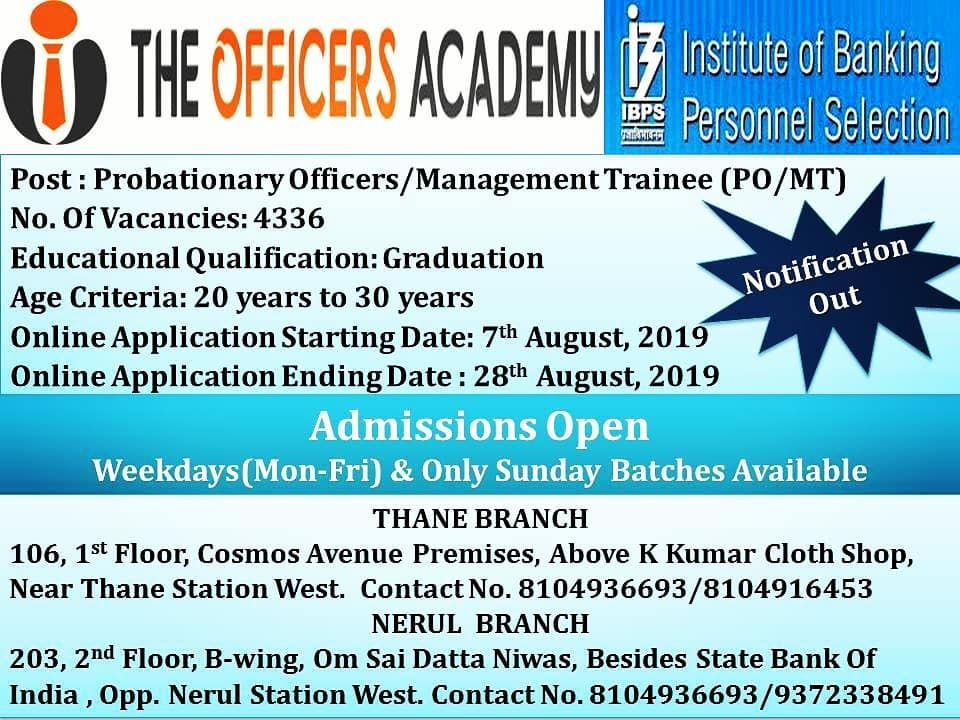 4336 Vacancies In Nationalised Banks Do Not Miss This Opportunity Make A Career In Indian Banking Sector Government Jobs Working Professionals Crash Course