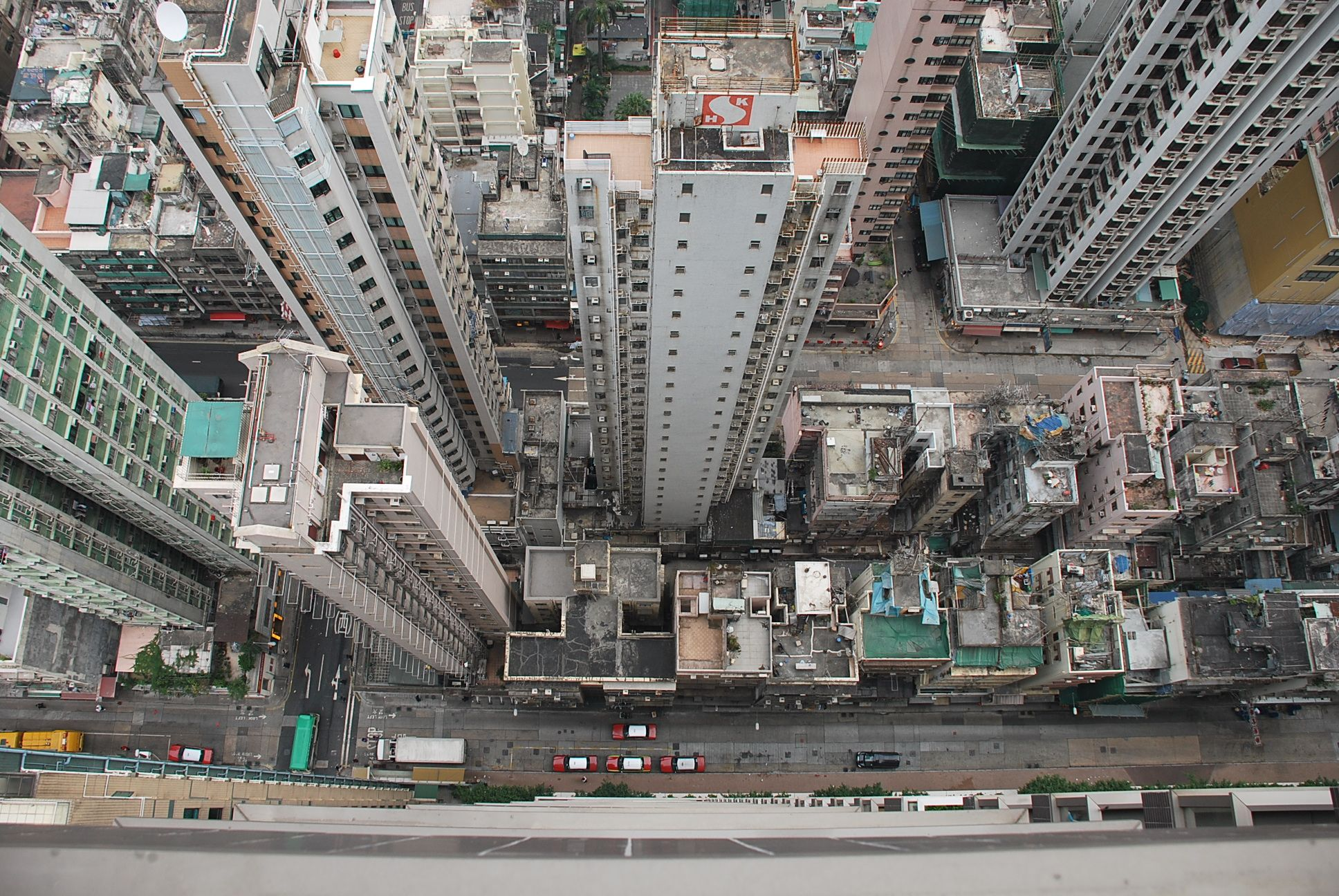 Roofs in Hong Kong