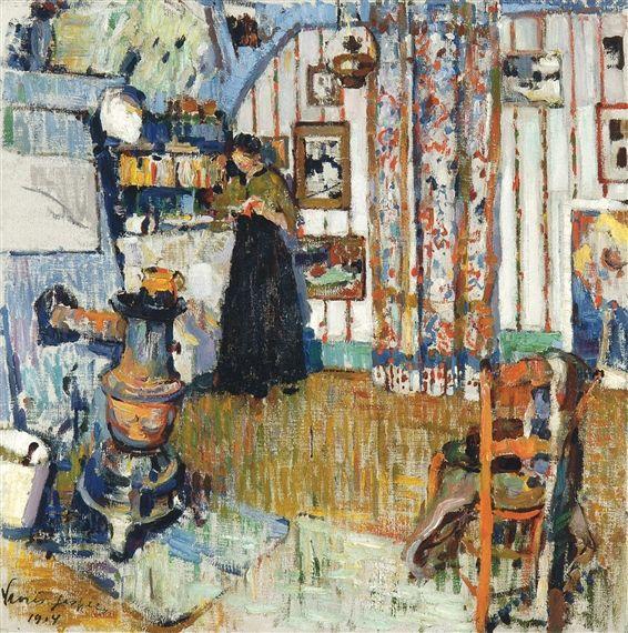 Floris Jespers, LE PETIT ATELIER (1914)