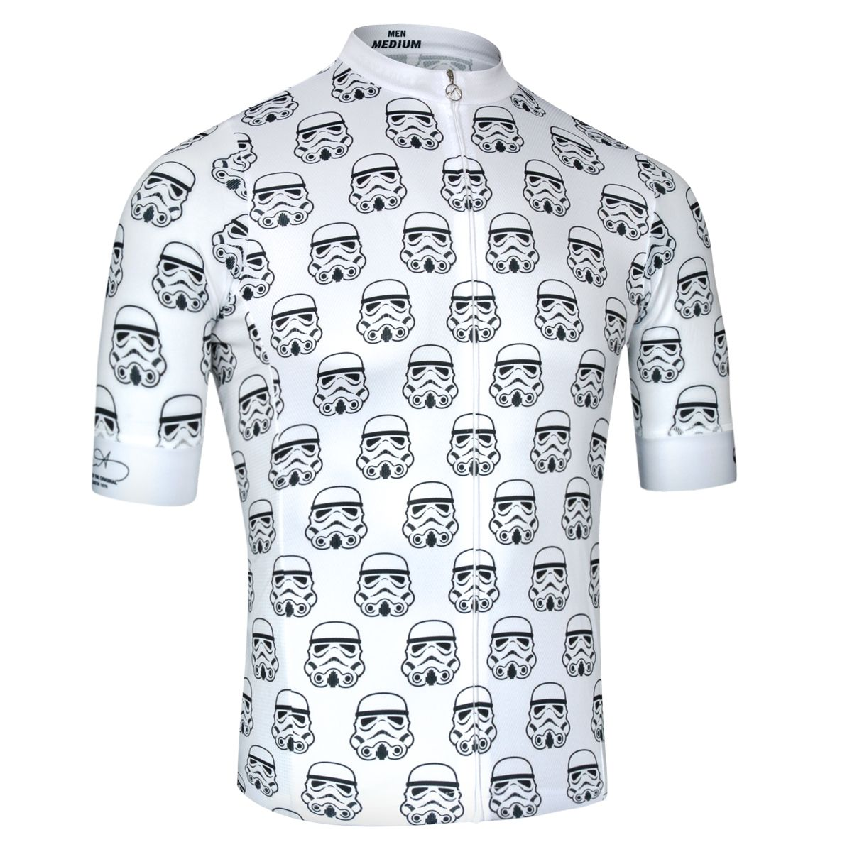 Stormtrooper Garrison - Short Sleeve Cycling Jersey by Milltag