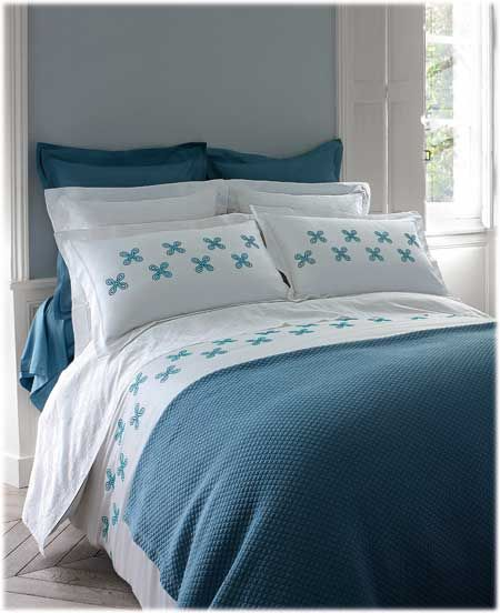 Descamps Coraline Bed Spreads Bed Super King Size Bed