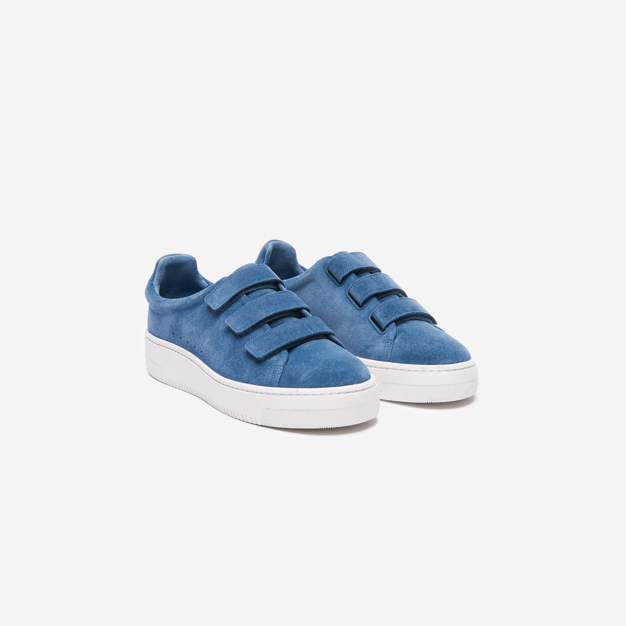 buy popular 75196 074ce Sandro trainersbr  • 100% calfskin - suede type materialbr  • Thick  soles and Velcro strapsbr  • Heel height 3cmbr br