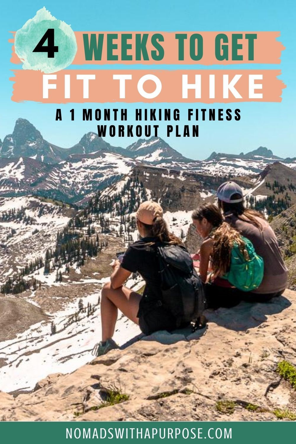 1 Month Hiking Fitness Workout Plan