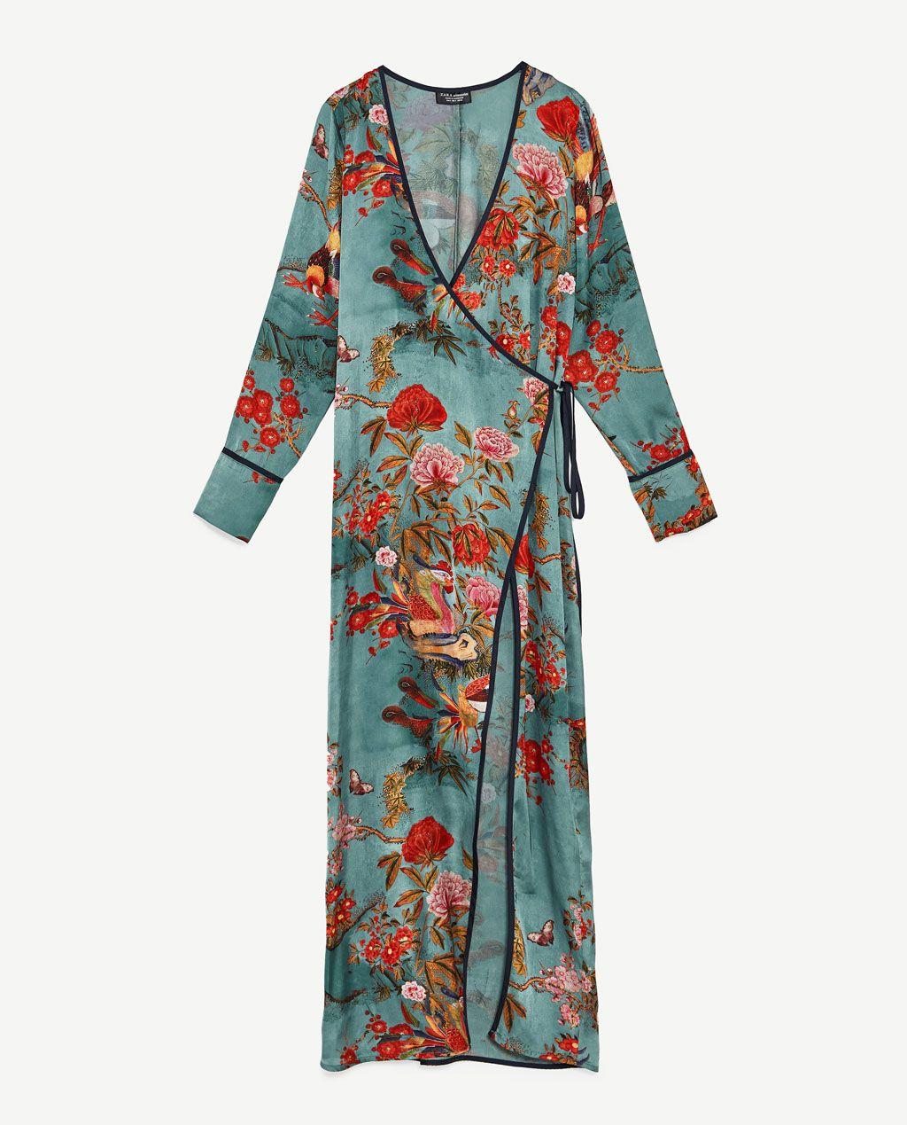 Billede Mønstret 8 Zara Kimonokjole Af For Hunting Perfection Fra wqFwgr