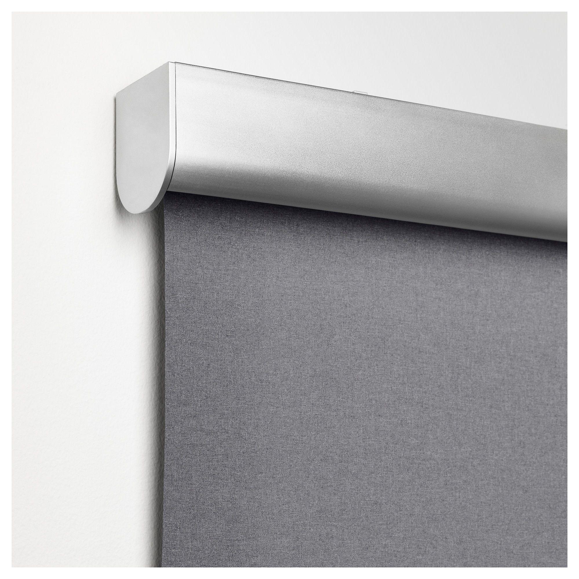 Ikea Tretur Light Gray Blackout Roller Blind Roller