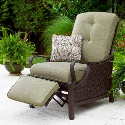 Gabriella Patio Recliner Lounge Chair Outdoor Outdoor Recliner Outdoor Chairs