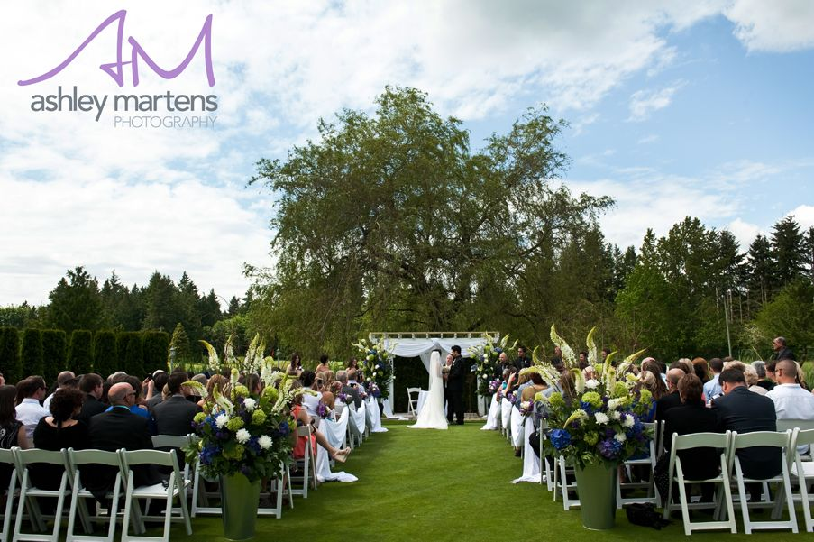 Outdoor Ceremony Space Langley Golf And Banquet Centre