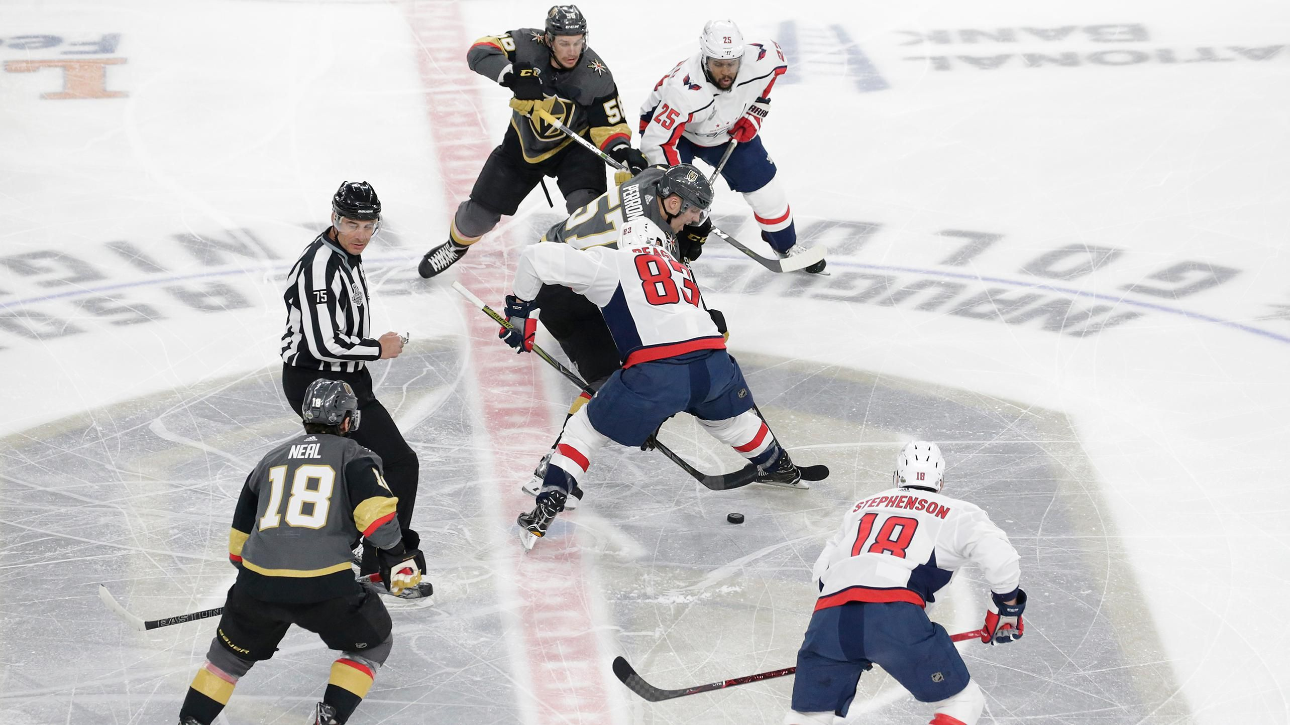 Golden Knights in control against Capitals in Cup Final db20fbe3fe7