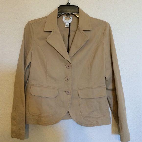 Petites Talbots blazer Beautiful beige blazer from talbots. Petites stretch size 2. No damage Talbots Jackets & Coats Blazers