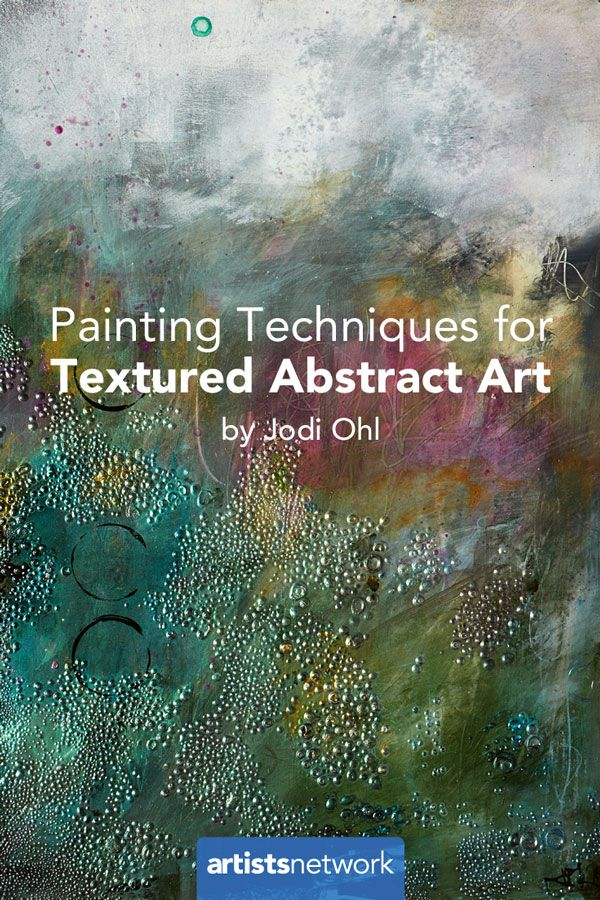 painting techniques for textured abstract art painting