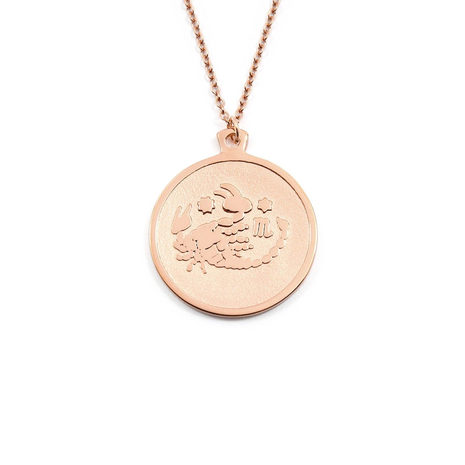 Scorpio rose gold anna saccone so pretty bling bling scorpio necklace by anna saccone rose gold s mozeypictures Images