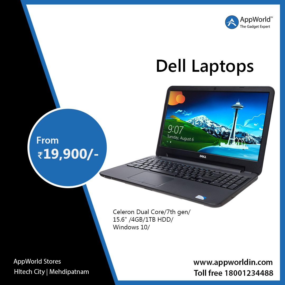 Dell laptops Starts From RS 19900/ BUY NOW Iphone