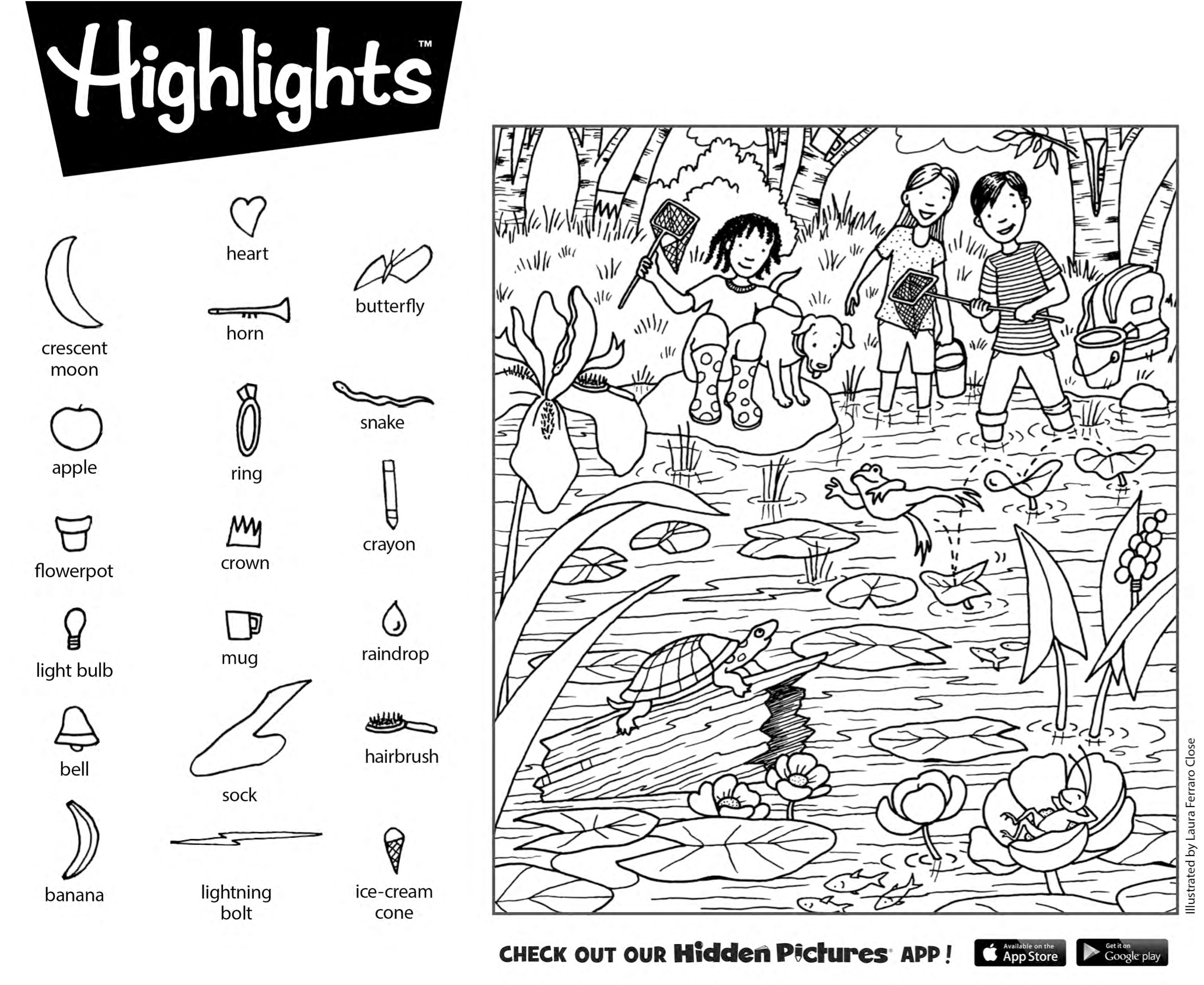 download this free printable hidden pictures puzzle from highlights for children - Free Printable Hidden Pictures