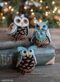 Come fare decorazioni natalizie con le pigne
