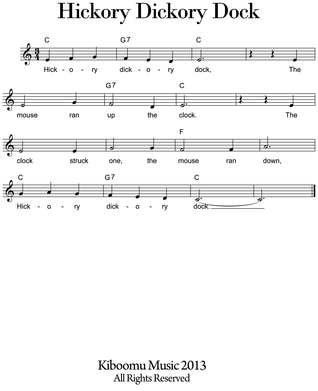 Kids Sheet Music - Google Search