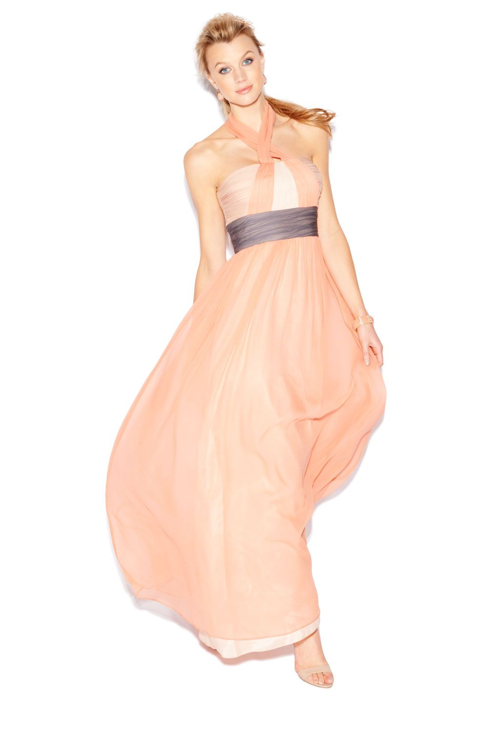 1f0e4dd01a5e This flowing chiffon  maxi is a gorgeous option for a wedding guest.   NewArrivals  Kohls