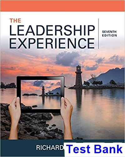Leadership experience 7th edition daft test bank test bank leadership experience 7th edition daft test bank test bank solutions manual exam bank fandeluxe Image collections