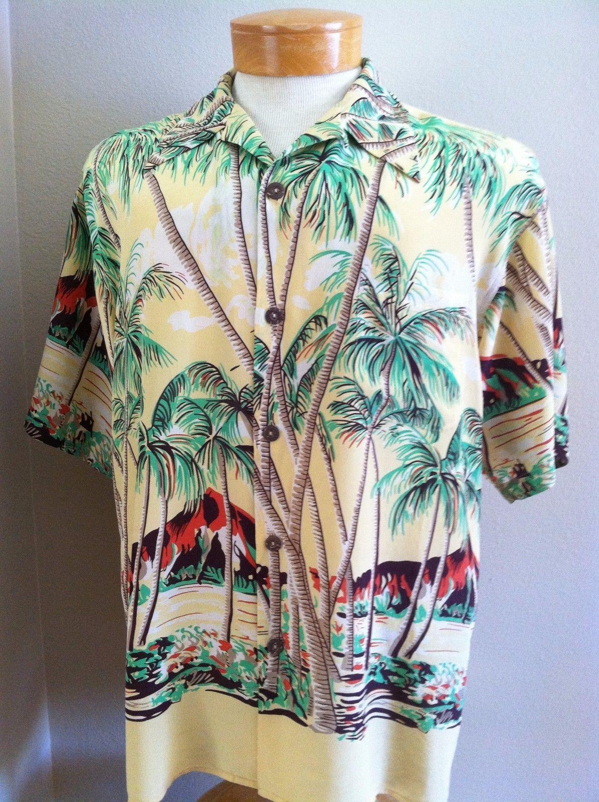 Avanti Silk Shirt Kimono Dress Aloha Anese Hawaiian