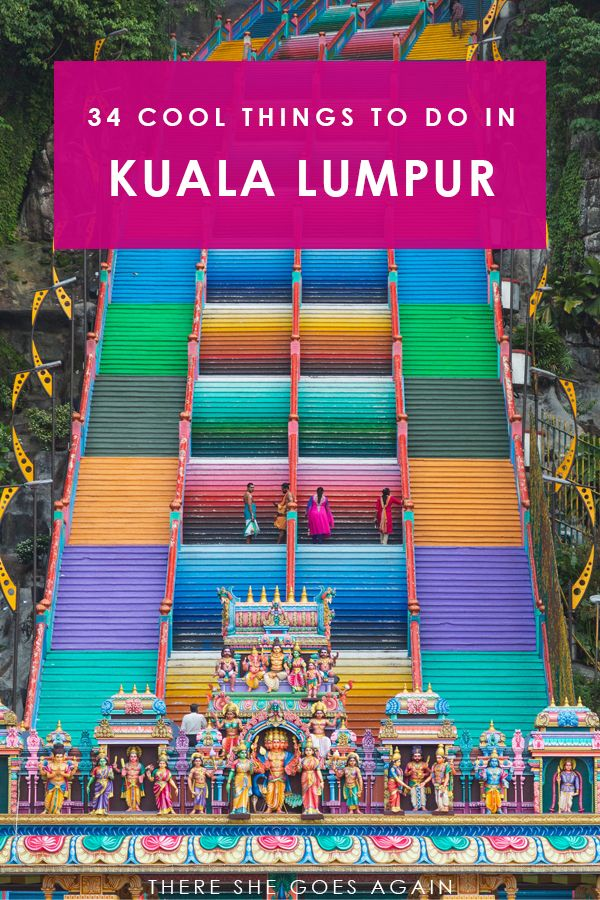 34 Cool Things to Do in Kuala Lumpur #travelbugs