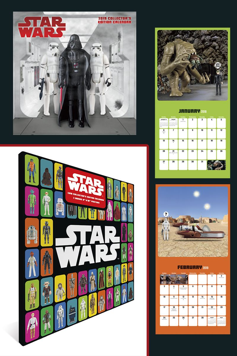 2019 star wars collectors edition calendar