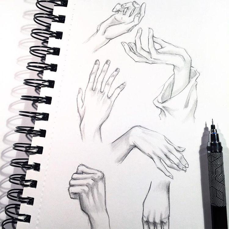 49 Hand Pencil Drawing Ideas Handpencildrawing Handsketch Hand