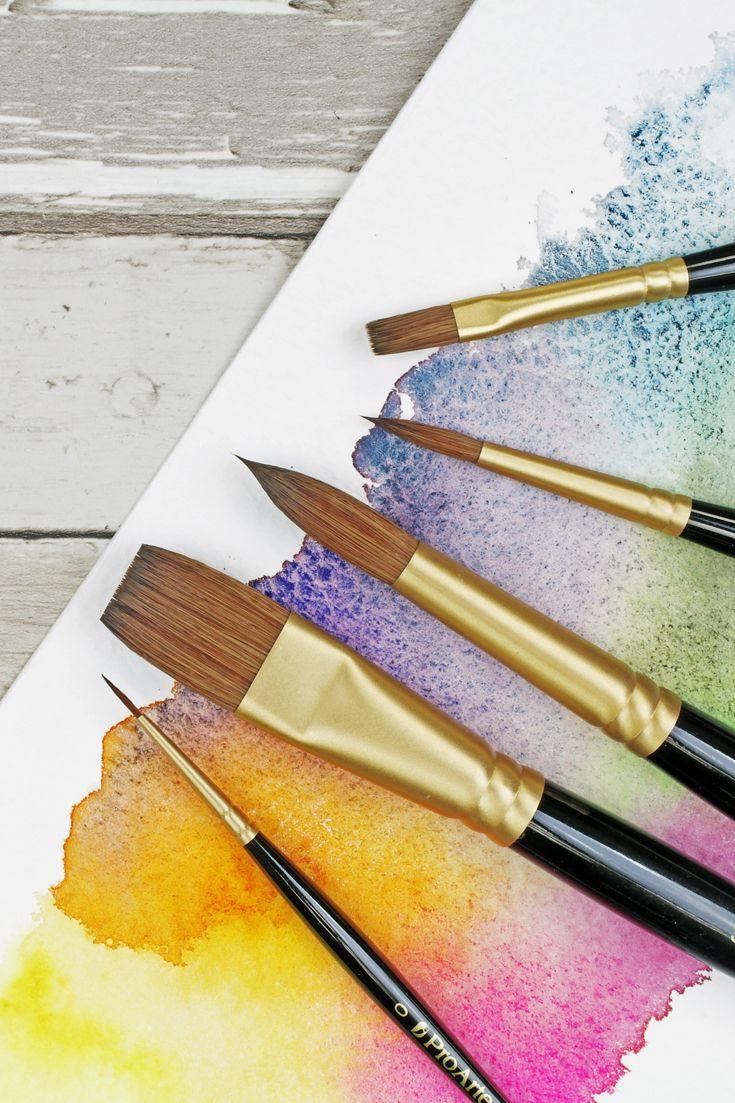 Sablene A Vegan Watercolour Brush 🌱 in 2020 Watercolor