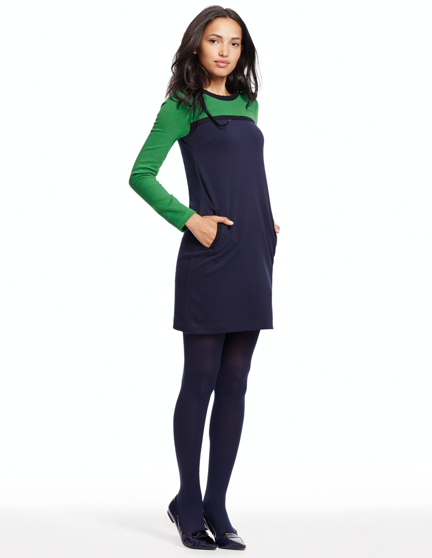 537ef13ae965 Colourblock Tunic WL848 Long Sleeved Tops at Boden Long Tops, Long Sleeve  Tops, Clothes