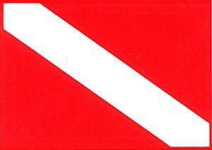 Universal Dive Symbol Dive Flag Sticker Dive Flag Scuba Diving