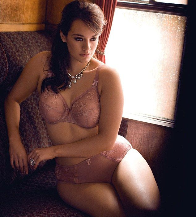 High street goes bust! Plus size lingerie range featuring size 46K ...