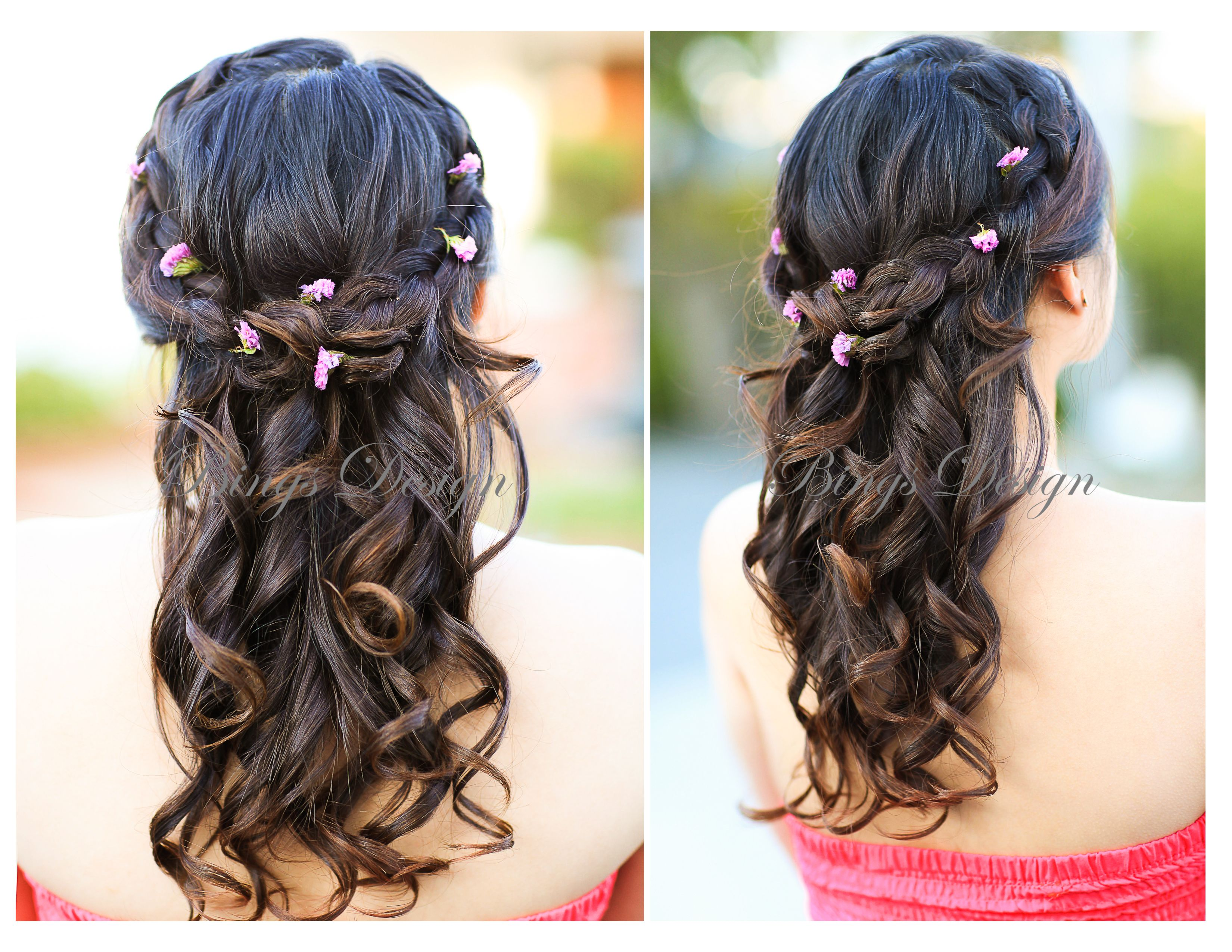 hairstyle for long hair www.bingsdesign | sweet 16❤ | pinterest