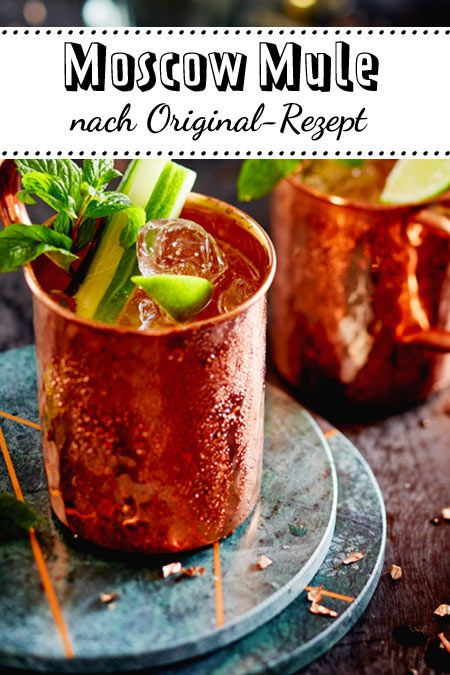 Photo of Make Moscow Mule yourself – how it works | DELICIOUS