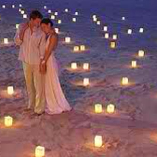 Wedding On The Beach. I Love How Non-stuffy They Are