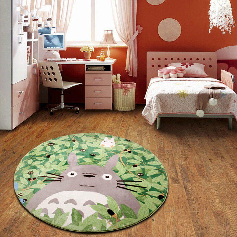 totoro rug Rugs in living room, Bedroom carpet, Living