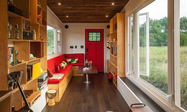 We have seen all kinds of cool features on tiny houses around the ...