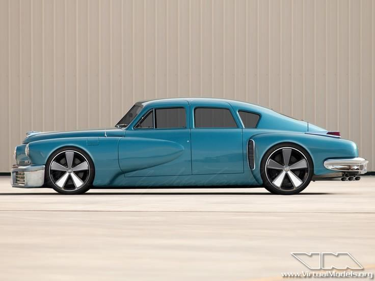 AMC - American Muscle Car 1948 Tucker Torpedo Custom - Teal | AUTOS