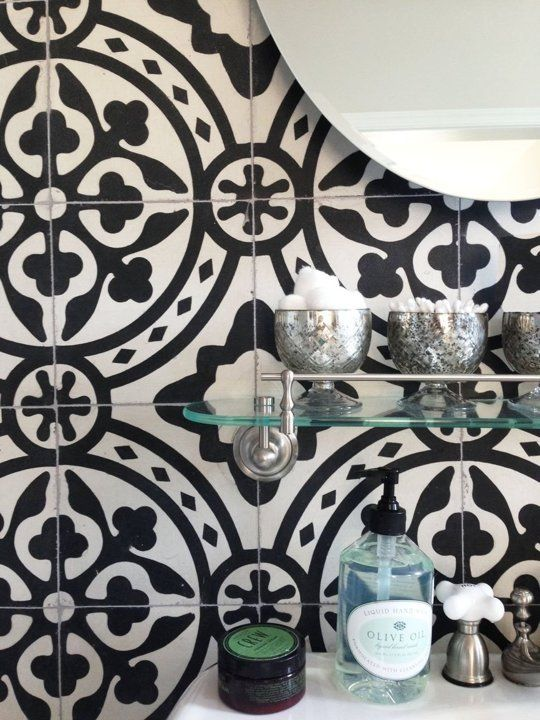 How To Get The Look Of Patterned Cement And Encaustic Tile For Less Tiles For Less Encaustic Tile Gorgeous Tile