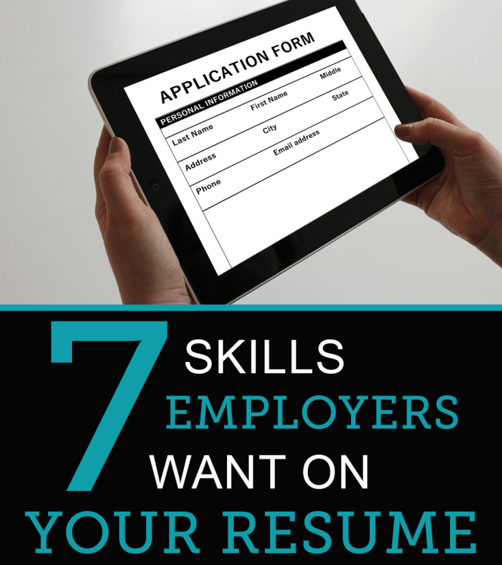 7 skills employers want to see on your resume nerdwage com