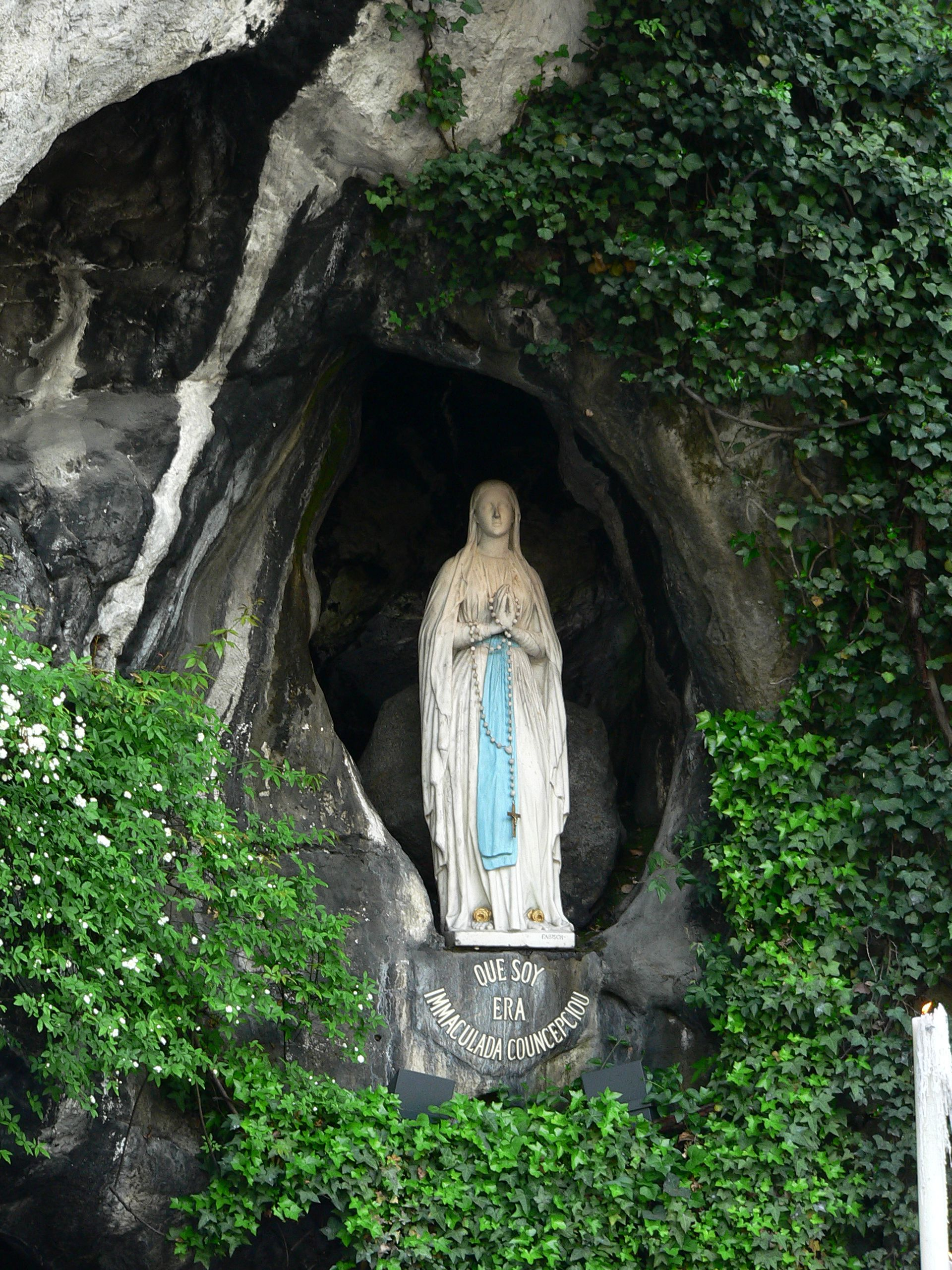 Image result for Sanctuary and Grotto of Our Lady of Lourdes france